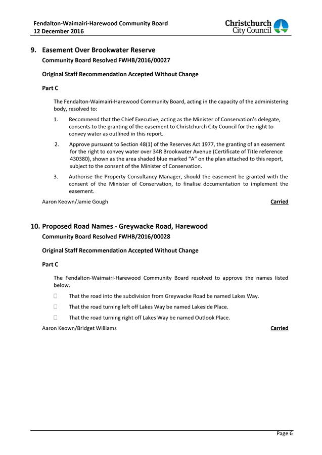 Agenda of council 9 march 2017 yelopaper Choice Image