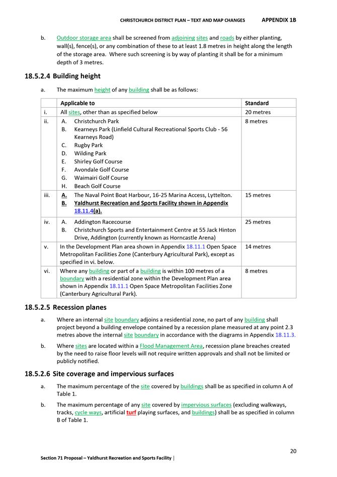 Attachments of Council - 23 August 2018